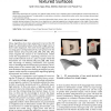Monocular 3D Reconstruction of Locally Textured Surfaces