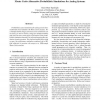 Monte Carlo-Alternative Probabilistic Simulations for Analog Systems