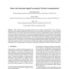 Monte Carlo Bayesian Signal Processing for Wireless Communications