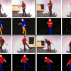 Motion Capture Based on Color Error Maps in a Distributed Collaborative Environment