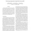 Motion image segmentation using global criteria and DP