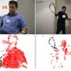 Non-Negative Matrix Factorization of Partial Track Data for Motion Segmentation