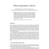 Motion Segmentation: a Review