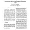 Motion Segmentation Based on Perceptual Organization of Spatio-Temporal Volumes