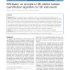 MRCQuant- an accurate LC/MS relative isotopic quantification algorithm on TOF instruments