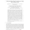 Multi-class Binary Object Categorization Using Blurred Shape Models