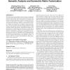 Multi-document summarization via sentence-level semantic analysis and symmetric matrix factorization