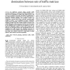 Multi-hour network planning based on domination between sets of traffic matrices