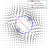 Scale and Rotation Invariant Detection of Singular Patterns in Vector Flow Fields