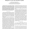 Multi-User Channel Estimation for Interference Mitigation in the LTE-Advanced Uplink