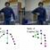 Multicues 2D Articulated Pose Tracking using Particle Filtering and Belief Propagation on Factor Graphs