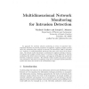 Multidimensional Network Monitoring for Intrusion Detection