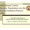 Multidomain Virtual Security Negotiation over the Session Initiation Protocol (SIP)