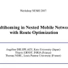 Multihoming in Nested Mobile Networks with Route Optimization