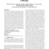 Multimodal multispeaker probabilistic tracking in meetings