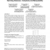 Multiple Referenda and Multiwinner Elections Using Hamming Distances: Complexity and Manipulability