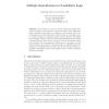 Multiple Semi-revision in Possibilistic Logic