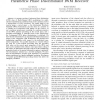 Multiplexing precoding scheme for STC-CPM with parametric phase discriminator IWM receiver