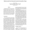 Multiscale Analysis from 1D Parametric Geometric Decomposition of Shapes