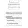 Multispectral Image Segmentation for Fruit Quality Estimation