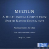 MultiUN: A Multilingual Corpus from United Nation Documents