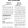 Multivariate multi-model approach for globally multimodal problems