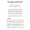 Mutual development of behavior acquisition and recognition based on value system