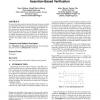 MYGEN: automata-based on-line test generator for assertion-based verification
