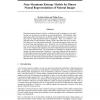 Near-Maximum Entropy Models for Binary Neural Representations of Natural Images