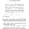 Negative Cycle Detection Problem