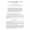 Network Behavior Analysis Based on a Computer Network Model