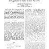 Network-Calculus-Based Analysis of Power Management in Video Sensor Networks