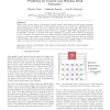 Network Estimation and Packet Delivery Prediction for Control over Wireless Mesh Networks