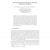 New Approximation Results for Resource Replication Problems