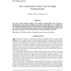 New Constructions of One- and Two-Stage Pooling Designs