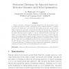 Newtonian clustering: An approach based on molecular dynamics and global optimization