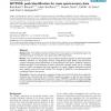 NITPICK: peak identification for mass spectrometry data