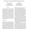Noise Tolerance of Expanders and Sublinear Expander Reconstruction