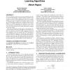 Non-linear dynamics in multiagent reinforcement learning algorithms