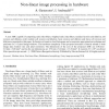 Non-linear image processing in hardware