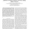 Non-Linear Precoding for OFDM Systems in Spatially-Correlated Frequency-Selective Fading MIMO Channels