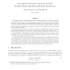 Non-Negative Principal Component Analysis: Message Passing Algorithms and Sharp Asymptotics