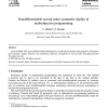 Nondifferentiable second order symmetric duality in multiobjective programming