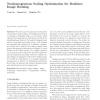 Nonhomogeneous scaling optimization for realtime image resizing
