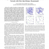 Nonparametric belief propagation for distributed tracking of robot networks with noisy inter-distance measurements
