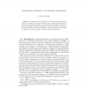 Nonstandard arithmetic and reverse mathematics