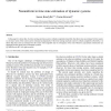 Nonuniform in time state estimation of dynamic systems