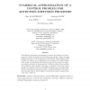 Numerical Approximation of a Control Problem for Advection-Diffusion Processes