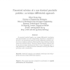 Numerical solution of a non-classical parabolic problem: An integro-differential approach