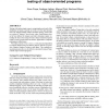Object distance and its application to adaptive random testing of object-oriented programs